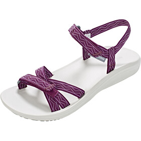Columbia Wave Train Sandals Women dark raspberry/white